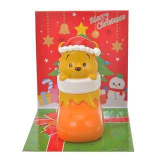 代購 日本Disney Store 聖誕 Winnie the Pooh 小熊維尼 公仔