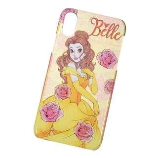 代購 日本Disney Store 貝兒 Belle IPhone X 電話殼