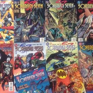 DC's SOVEREIGN SEVEN (1995) #2, 3, 4, 5, 6, 7, 8, 9, 10 + #1 Annual