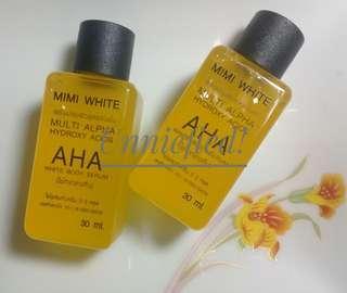 Mimi White AHA Body Serum 30ml