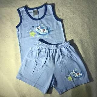 Terno Sando and Shorts for Baby Boy