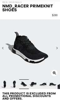 Adidas NMD PrimeKnit trainers BNIB