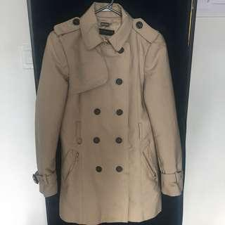 Zara - Beige trench coat Medium