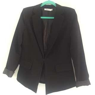 Just Fab black blazer Small