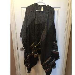 Roots Poncho Sweater
