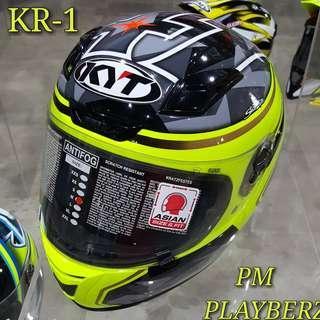 KYT KR-1 ALEIX ESPARGARO RACING HELMET..😎!!