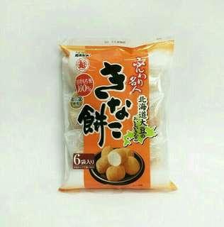 🚚 日本 越後製菓 黃豆粉泡芙 米菓/1包/6袋入/85g