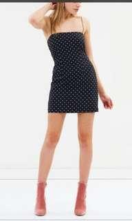 Lulu and Rose Bobbi Mini Spot dress