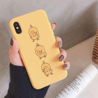 iPhone X Yellow Ducks Casing