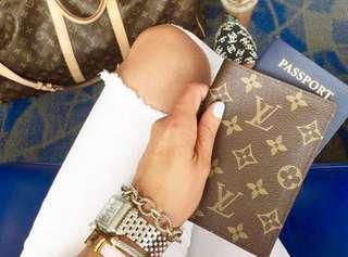 Louis Vuitton passport cover