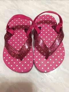 🚚 品牌PLACE 女童夾腳拖鞋14.5cm