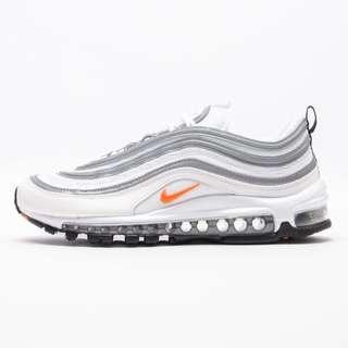 Authentic Nike Air Max 97 White / Orange