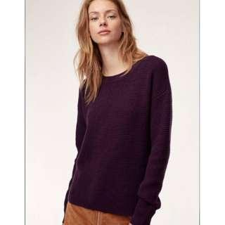 Aritzia WILFRED Isabelli Sweater