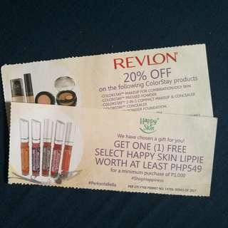 Happy Skin, Revlon Voucher