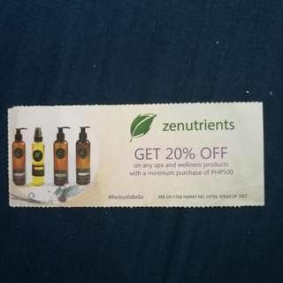 Zenutrients 20% Off