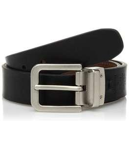 Authentic Dockers Mens Reversible Leather Belt 26-31 inches