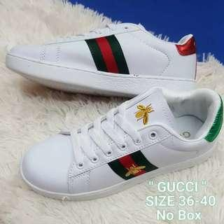 GUCCI Inspired Ace Embroidered Sneakers