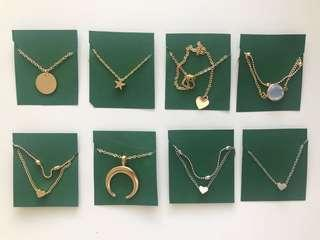 CUTE NECKLACES (BRAND NEW)