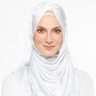 (Mark Down) Alhambra White Duckscarves