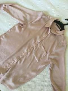 Pink glassons blouse