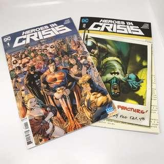 Heroes In Crisis #1 and #2