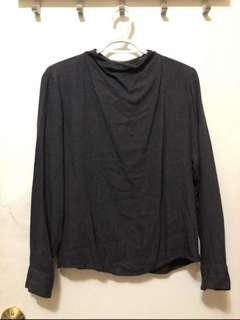 Uniqlo Mock Neck Longsleeve