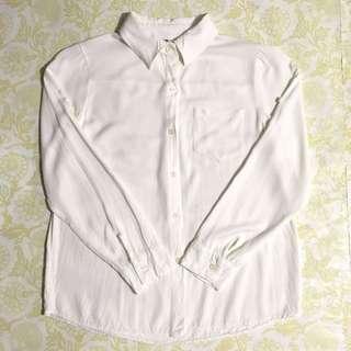 White Pocket Longsleeves