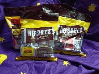 Hersheys Miniatures