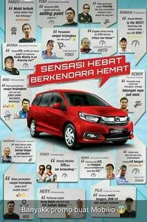 Dp 0% Honda Mobilio MPV Hemat dan Mewah