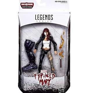MISB Marvel Legends Series Typhoid Mary (Monster Venom BAF Spider-Man Spiderman Classics Select)