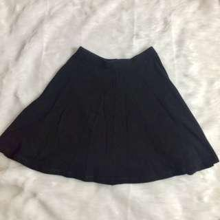 Top Shop Black Skater Skirt