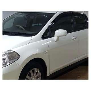 Nissan Latio 2005-2011 Door Visor