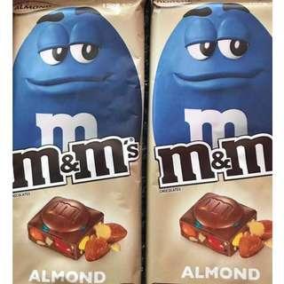 M&M's Almond Bar 160g