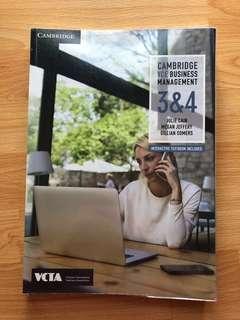 VCE 3/4 BUSMAN TEXTBOOK + FREE PDF VERSION
