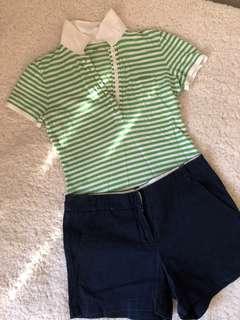 Bundle Sale — Gap Top   Forever 21 shorts