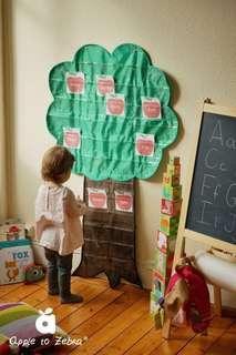 Tree Pocket Chart