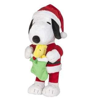 Peanuts Snoopy 22寸 座地大公仔