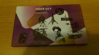 日本造幣局精鑄幣套裝 2008 Japan Mint Proof Set 2008