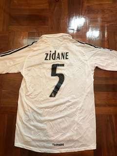 皇馬主場球衣施丹 real madrid zidane