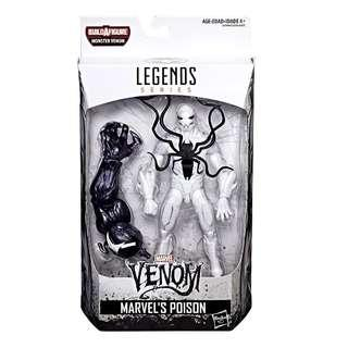 MISB Marvel Venom Legends Series Poison (Monster Venom BAF Carnage Toxin Lasher Scream Spider-Man Spiderman Classics SMC Select)