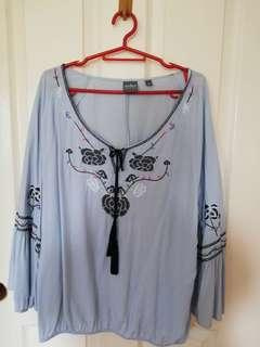 USA brand boho blouse