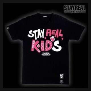 🚚 《二手》Stayreal 5週年 Anniversary KIDS T(我是細路T)