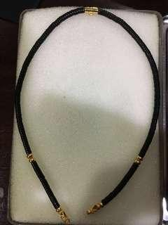 Real Thai Gold Amulet Necklace