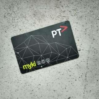 Melbourne City Adult Myki Travel Card [UP: A$6]