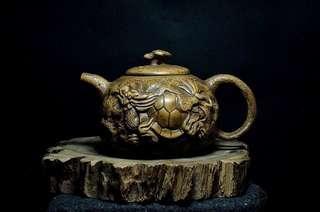 早期老黃泥紫砂壺