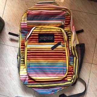 Janspot big student backpack