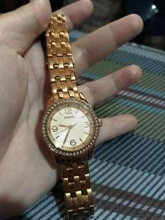 fossil watch for her