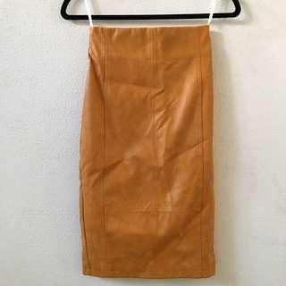 Sheike Mustard Skirt