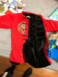 Baby Chinese new year costume 賀年衣服