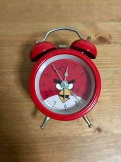 Red Angry Bird Clock
